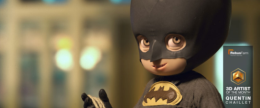 Design de personnage | « Little Batman » | Quentin Chaillet