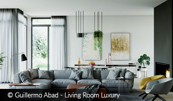 Guillermo Abad Living Room Luxury