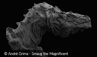 Image of the Dragon Smaug by Andre Grima